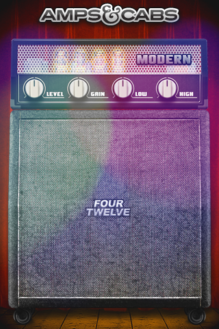 Amps & Cabs™ — Modern Amp with FourTwelve Cab