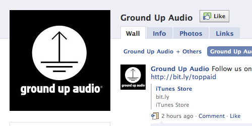 Ground Up Audio is on Facebook